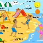 beach vocabulary